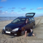 festgefahren am Tornby Strand