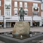 Tordenskjold Statue in Frederikshavn