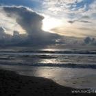 Nørlev Strand Sonnenuntergang