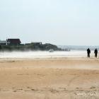 Sandsturm am Nørlev Strand