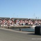 Fischbuden im Hafen von Skagen