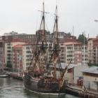 Altes Schiff in Göteborg