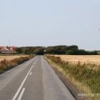Strasse nach Nr. Rubjerg / Nr. Lyngby