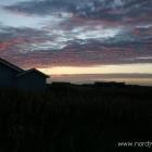 Sonnenuntergang in Nørlev