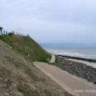 Weg am Strand von Lønstrup