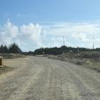 Verbindungsstrasse durchs Militärgebiet kurz vor Blåvand