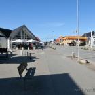 Die Hauptstrasse von Blåvand