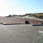 Der Strandaufgang