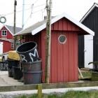 Hütte am Hafen von Ringkøbing