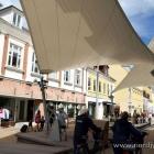 Segel in der Innenstadt von Frederikshavn