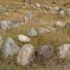 ein einzelnes Grab