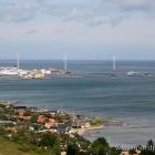 Bangsbo Fort Aussicht auf Frederikshavn