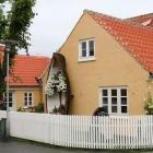 """Hausfront """"Blumenboot"""" in Skagen"""
