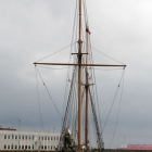 Segelschiff im Hafen von Skagen
