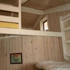 """der Zugang zum Dach """"Hems"""" im Ferienhaus"""