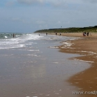 der Strand Richtung Norden