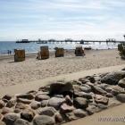Strand, Strandpromenade und Seebrücke von Kellenhusen