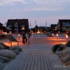 Strandpromenade am Abend