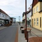 Die neue Fussgängerzone von Hirtshals
