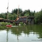 Teich für Tretboote im Fårup Sommerland