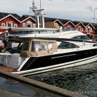Yacht im Hafen von Skagen