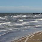 Das Meer beruhigt sich langsam