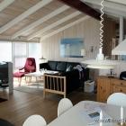 Der Wohnraum des Ferienhauses