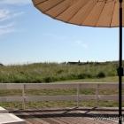Ausblick von der Terrasse des Ferienhauses