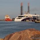 der Hafen ist voll. ;)