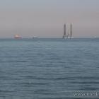 Bohrinsel auf dem Meer