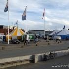 Die Zelte vom Hirtshals Fiskefestival