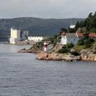 Odderøya Fyr vor Kristiansand