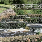 Fischtreppen / Fisketrappen in Bindslev