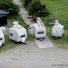 Wohnwagen von oben