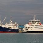 Die Fähre Uraniborg und die Fiskebank