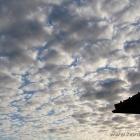 schöne Wolken über Hirtshals