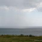 Regen über dem Kattegat