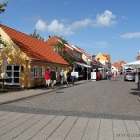 Einkaufsstrasse in Skagen