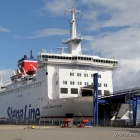 Fährschiff in Grenaa