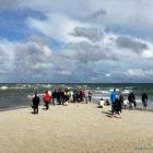 Grenen Strand Wellen