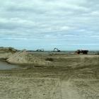 Hafenerweiterung Hirtshals Bauarbeiten