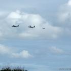 Militär Flugzeug Manöver