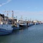 Hirtshals Hafen Fischerboote