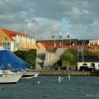Hirtshals Treppen zum Hafen