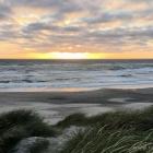 Tornby Strand abendstimmung