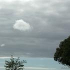 Wolke unter Wolken