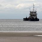 Schiff vor Hvide Sande