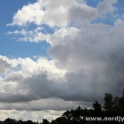 Wolken in Blokhus
