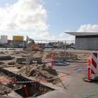 Baustelle im Hafen von Hirtshals