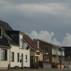 Häuserfront in Hirtshals